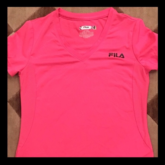 2eb4d0d2ad9f Fila Shirts & Tops | Girls Pink Performance Top Size 1012 M | Poshmark